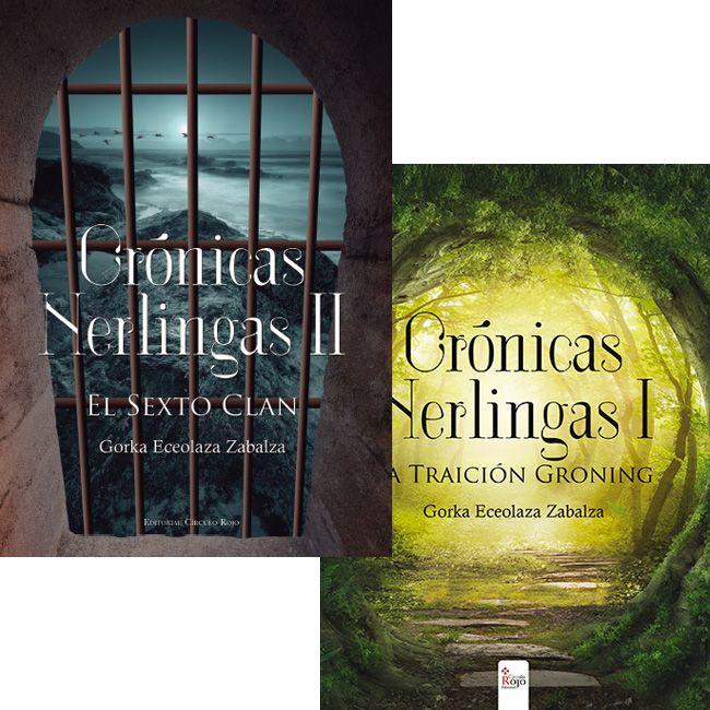 """Gorka Eceolaza """"Crónicas Nerlingas II. El Sexto Clan"""" presentación libro."""