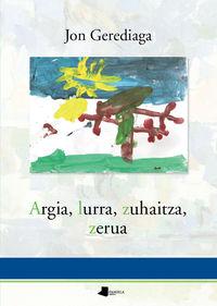 ARGIA, LURRA, ZUHAITZA, ZERUA