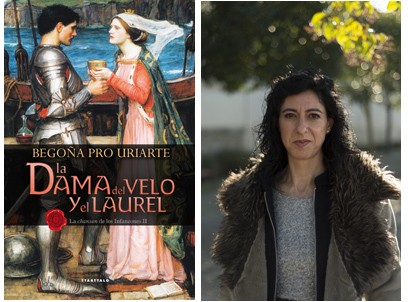 """Begoña Pro Uriarte """"La dama del velo y el laurel"""" Tertulia."""