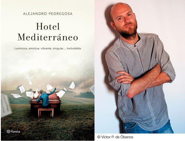 """Alejandro Pedregosa """"Hotel Mediterráneo"""" Presentación del libro."""