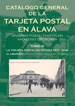 """Jesús Gómez Ugarte eta Juan José Zurro """"Catálogo General de la Tarjeta Postal en Álava.  Tomo II: La Tarjeta Postal en Álava 1917 a 1939"""" Liburu aurkezpena."""