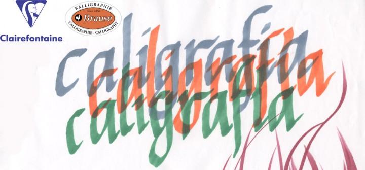 """BELLAS  ARTES:  Begoña  Vinuela  """"Taller  de  caligrafía  BRAUSE  y  CLAIREFONTAINE""""  Demostración."""
