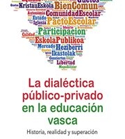 Gonzalo Larrozea 'La dialéctica público-privado en la educación vasca' aurkezpena @ elkar aretoa (San Prudencio)