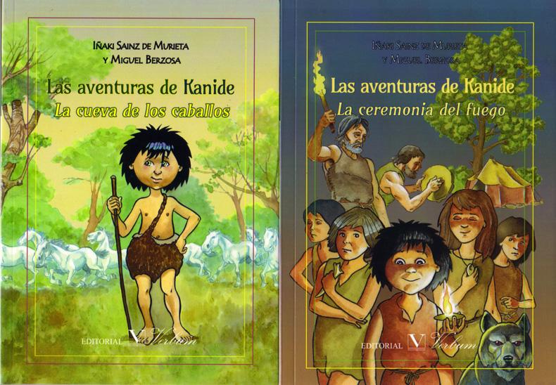 Iñaki Sainz de Murieta y Miguel Berzosa 'Las aventuras de Kanide' Presentación del libro.