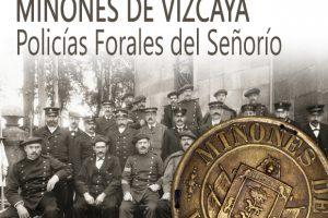 Jorge Cabanellas 'Miñones de Vizcaya. Policias forales del señorío'. Presentación de libro. @ elkar aretoa Bilbo (Licenciado poza)