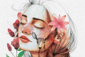 Dulcinea (Paola Calasanz) 'El día que sueñes con flores salvajes' Firma de libros. @ elkar aretoa Bilbo (Licenciado Poza 14)