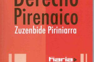 Nabarralde + Martin Ttipia 'Derecho pirenáico. Zuzenbide Piriniarra' Liburu aurkezpena. @ elkar aretoa Gasteiz (San Prudencio 7)