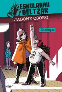 Jasone  Osoro  'Eskularru  beltzak  2.  Casting-a'  Prentsaurrekoa.