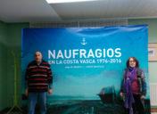"""Memorable  presentación  en  Pasaia  de  """"Naufragios  en  la  costa  vasca  1976-2016"""""""