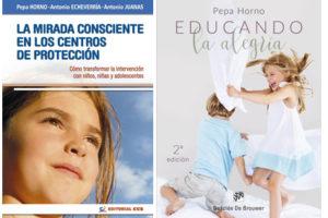 Pepa Horno 'Educando la alegría' eta 'La mirada consciente en los Centros de Protección' Presentación de libros. @ elkar aretoa Bilbo (Licenciado Poza 14)