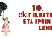 10  urtetako  elkar  Ilustrazio  eta  Ipuin  Lehiaketako  lan  irabazleak