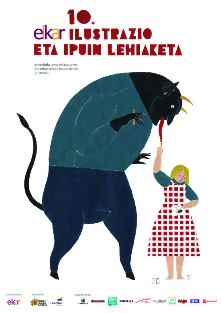 10.  elkar  Ilustrazio  eta  Ipuin  Lehiaketa.  Prentsaurrekoa.