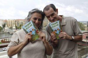 Txano y Oscar. Rueda de prensa. @ elkar aretoa Bilbo (Licenciado Poza 14)