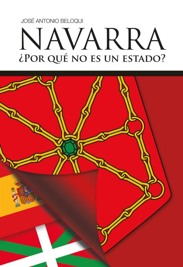 José  Antonio  Beloqui  'Navarra.  ¿Por  qué  no  es  un  estado?'  Rueda  de  prensa.