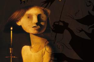 """""""Coraline"""", Neil Gaiman. Itzulpena: Julen Gabiria. Prentsaurrekoa @ elkar aretoa, Bilbo"""