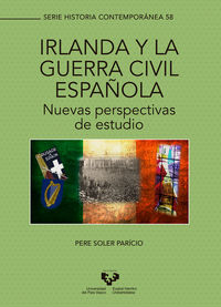 Pere Soler Paricio 'Irlanda y la guerra civil espanola nuevas perspectivas de estudio' Presentación de libro