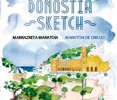 Donostia Sketck 'Marrazketa Maratoia' @ Easo Plaza (Donostia)