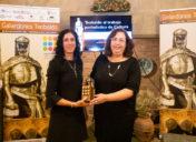 Begoña  Pro  Uriarte  ganadora  de  los  premios  Teobaldo