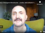 Juanjo  Olasagarre  Mendinuetak  jasoko  du  Joseba  Jaka  beka,  elkar  Fundazioaren  eskutik