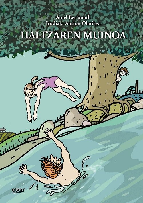 """Anjel Lertxundi, """"Haltzaren muinoa"""", Prentsaurrekoa"""