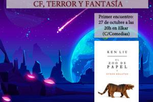 Club de lectura de CF, Terror y Fantasía elkar @ Iruñeko elkar aretoa