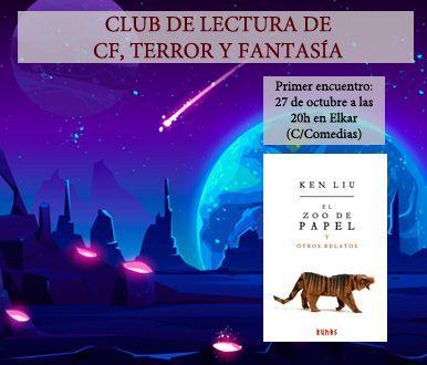 Club de lectura de CF, Terror y Fantasía elkar