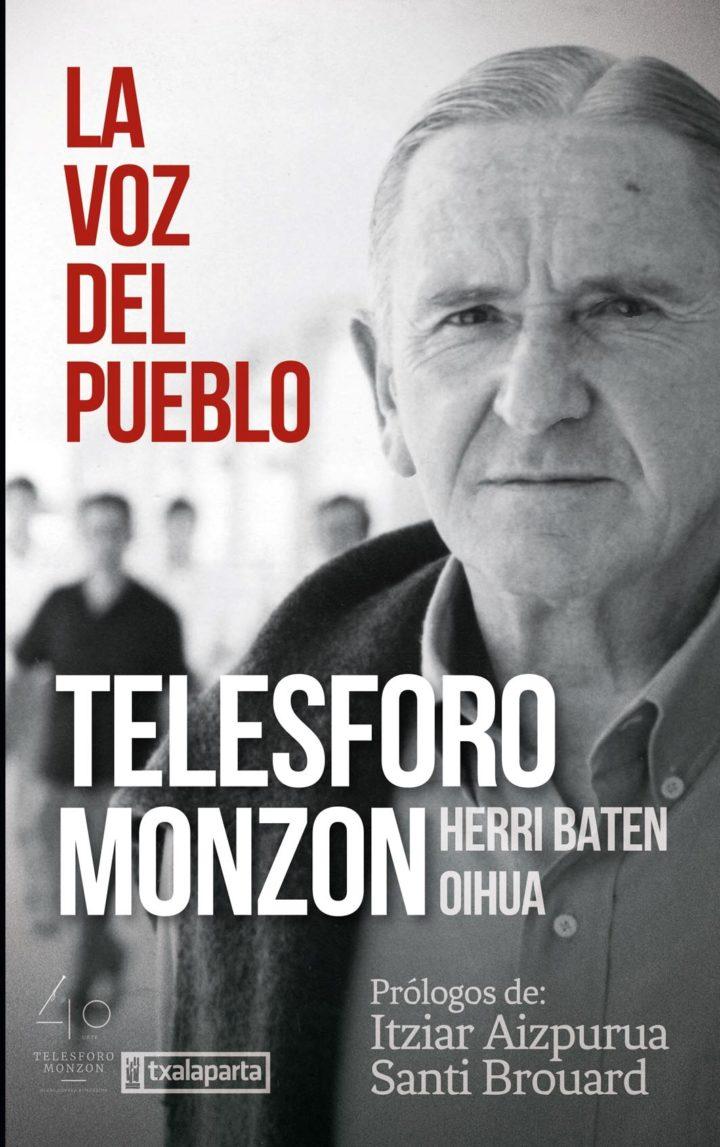 """Itziar  Aizpurua  eta  Santi  Brouard  """"Telesforo  Monzon  –  La  voz  del  pueblo""""  RUEDA  DE  PRENSA"""